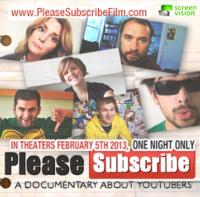 PLEASE SUBSCRIBE: A DOCUMENTARY ABOUT YOUTUBERS Coming to Cinemas Nationwide, 2/5