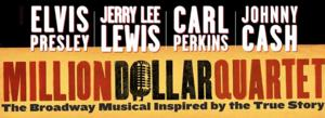 National Tour of MILLION DOLLAR QUARTET Makes RiverCenter Debut Tonight