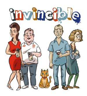 Torben Betts' INVINCIBLE to Open 15 July at St. James Theatre