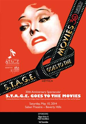 S.T.A.G.E. GOES TO THE MOVIES Event on 5/10  Features All-Star Cast