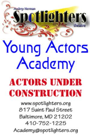 Spotlighters 2014 Summer Young Actors Academy Opens Registration