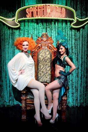 Jinkx Monsoon Attends ABSINTHE at Caesars Palace