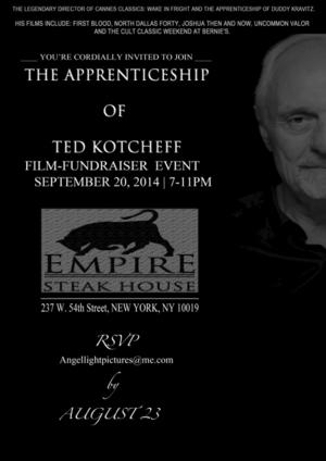 Empire Steak House NY to Host Celebration of FIRST BLOOD Director Ted Kotcheff, 9/20