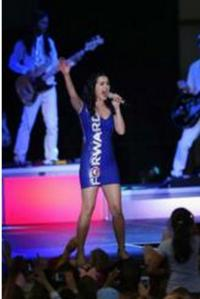 Katy Perry's 'Forward' Obama Dress Designed by Graduate of FIDM