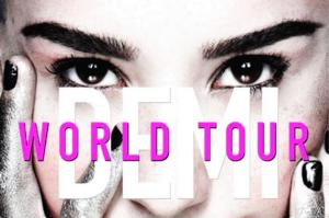 DEMI LOVATO Announces North American Dates for World Tour