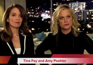 Amy Poehler, Tina Fey Chat Hosting GOLDEN GLOBE AWARDS