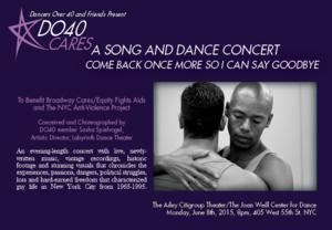 Dancers Over 40 to Offer BC/EFA Benefit Performance, 6/8