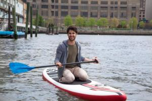 Darren Criss Auctions Off Day of Paddleboarding for Charity