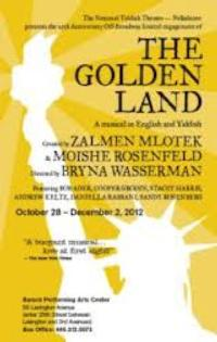 Save on Tickets to Off-Broadway's GOLDEN LAND; Playing Thru 12/30!
