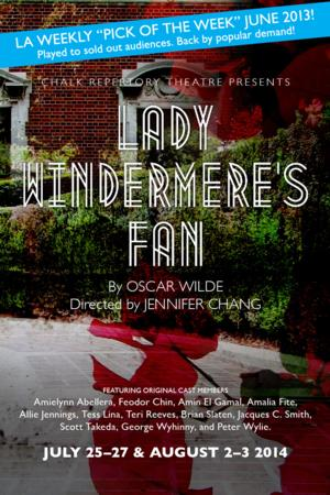 BWW Reviews: Chalk Rep's LADY WINDERMERE'S FAN Returns to Clark Library Grounds by Popular Demand