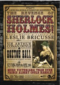 Morphic Graffiti Presents THE REVENGE OF SHERLOCK HOLMES, Opens April 10