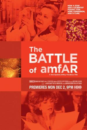HBO Debuts THE BATTLE OF AMFAR Today
