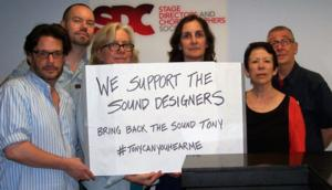 Stage Directors and Choreographers Society Supports Sound Designers