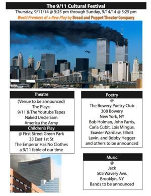 9/11 Cultural Festival to Run 9/11-14