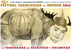 Inwood Shakespeare Festival 2014 Presents 15th Season of Free Theatre in Inwood Hill Park Peninsula