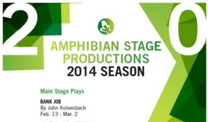 Amphibian Stage Productions Announces Casting for Premiere of BANK JOB by John Kolvenbach