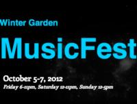 Winter Garden Music Festival Set for 10/5-7