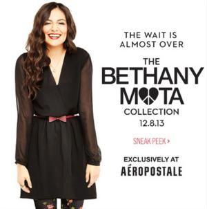 Aeropostale Teams Up With Bethany Mota