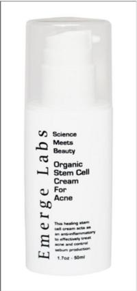 Emerge Labs Releases New Stem Cell Acne Cream