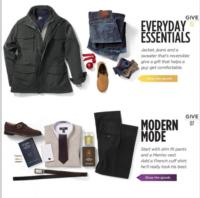 Men's Wearhouse Offers Interactive Gift Guide