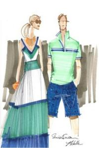 Banana Republic and Milly Collaborate on Limited-Edition Collection
