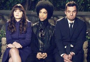 FIRST LOOK - Music Royalty Prince Guests on FOX's NEW GIRL