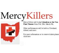 Michael Milligan's MERCY KILLERS Plays the Van Fleet, 2/20-3/9