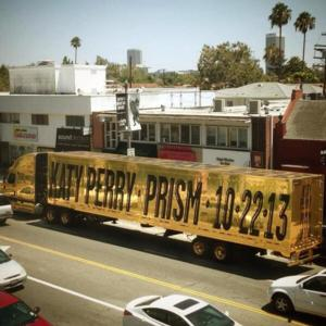 KATY PERRY Announces Name, Release Date for New Album, 'Prism'