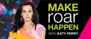 Staples and Katy Perry 'Make Roar Happen' for Teachers in Manhattan