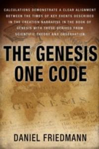 Daniel Friedman Releases THE GENESIS ONE CODE