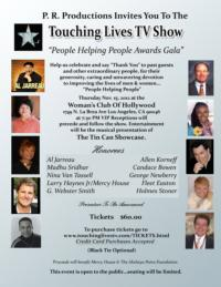 People Helping People Announces 2012 TOUCHING LIVES Award Recipients; Ceremony Set for 11/15