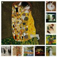 THE KISS by Gustav Klimt Named Most Romantic Oil Painting for Valentine's Day 2013