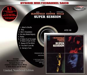 Audio Fidelity to Release 5.1 Multichannel Hybrid SACD of 'Super Session' Album