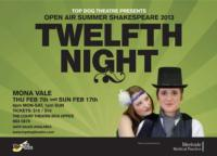 TWELFTH NIGHT to Open at 2013 Open Air Shakespeare Festival, Feb 7
