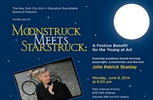 New York City Arts in Education Roundtable to Host 'MOONSTRUCK MEETS STARSTRUCK' Benefit, 6/9