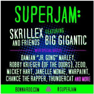 BIG GIGANTIC Heads to Bonnaroo for Superjam with Skrillex & Friends