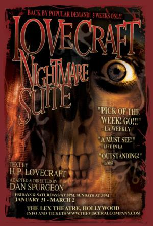 Visceral Company to Present LOVECRAFT: NIGHTMARE SUITE, 1/31-3/2
