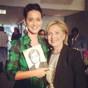 Katy Perry to Compose Campaign Song for Hillary Clinton's Presidential Run?