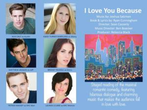 Old Well Productions Announces Staged Reading of I LOVE YOU BECAUSE, 01/18