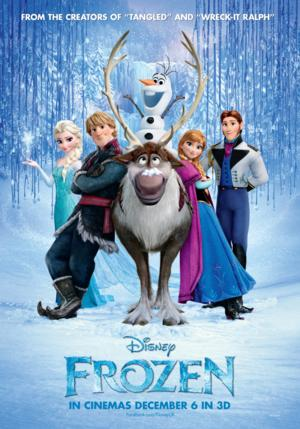 FROZEN Freezes Out 'PARANORMAL ACTIVITY' at Weekend Box Office