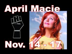 April Macie and Sebastian Maniscalco to Headline Side Splitters in Tampa, 11/14-17 & 11/21-23