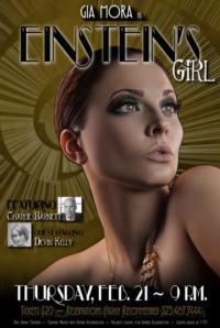 Gia Mora Brings EINSTEIN'S GIRL to Hollywood, 2/21