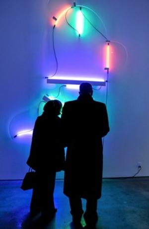 BWW Reviews: Pace Gallery Creates a Post-Modernistic Contrast with SOL LEWITT and KEITH SONNIER