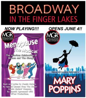 MENOPAUSE THE MUSICAL, ON THE TOWN, THE PITCH and More Set for 2014 Finger Lakes Musical Theatre Festival