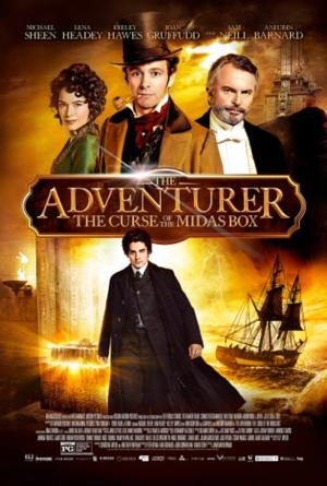 THE ADVENTURER:  THE CURSE OF THE MIDAS BOX Out on DVD Today