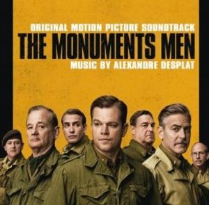 Original Motion Picture Soundtrack of THE MONUMENTS MEN Released Today