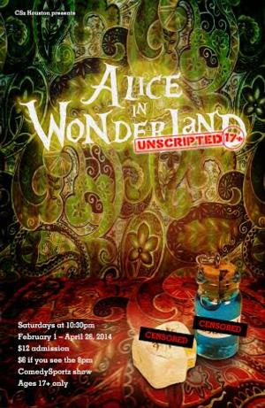 Alice with a Twist - ComedySportz Presents Improvised ALICE IN WONDERLAND: UNSCRIPTED Tonight