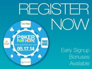 First 50 'Poker for Hope' Registrants Receive Free Ticket Voucher for ASBINTHE