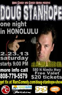 Doug Stanhope Brings Brutally Honest Comedy to Honolulu's Aloha Beer Company Tonight