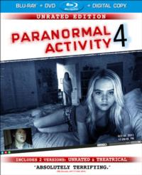 PARANORMAL ACTIVITY 4 Receives 1/29 DVD & Blu-ray Release